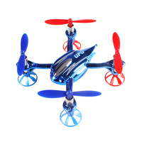 New WLToys V343 MINI RC Helicopter 2.4Ghz Super Quadcopter UFO SEA-GLEDE with LED Light Outdoor Toy