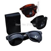 New mens womens Classic Folding Foldable Sport Wayfarer UV400 Glasses Sunglasses