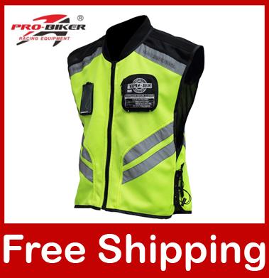 Светоотражающая дорожная одежда PRO-BIKER/Riding