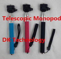 New Professional Self-timer tripod Extendable Ski Pole Handle Telescopic Monopod with Tripod Mount for Gopro HD Hero