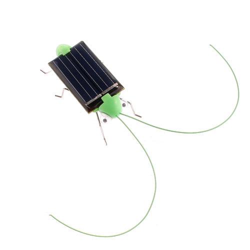 5pcs Solar Grasshopper toys for children Solar Toys game Mini Grasshopper For Kids Fun Bug Robot Free Shipping Power Energy(China (Mainland))