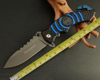 Boker knife Magnum 169 survival knife tactical hunting camping knife gift hook aluminum handle