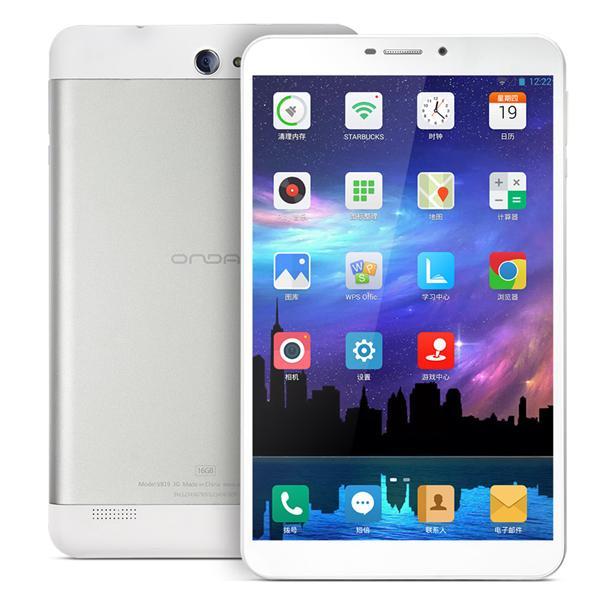 8 inch 1280*800 IPS Android 4.3 Quad core 3G Tablet Phone PC Onda V819 1G RAM 16GB ROM bluetooth dual camera Free Shipping(China (Mainland))