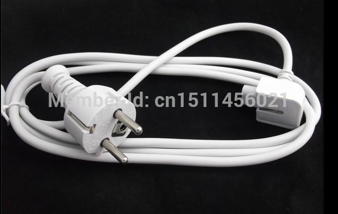 Free shipping 100% Original EU Standard Extension Cord For Apple Macbook Power Cable EU MODEL(China (Mainland))