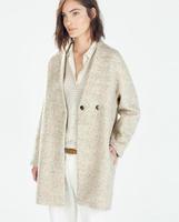 2014 outerwear medium-long cashmere woolen overcoat loose plus size woolen outerwear