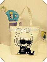 new 2014 victoria bag women's handbag one shoulder handbag pink neon letter beach canvas bag