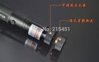 Free shipping High power 50000mw 532nm laser pointer flash light  focusable can burn match,burn cigarettes,pop balloon