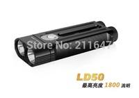 Free Shipping Fenix LD50 double tube body waist card strong light flashlight