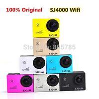 Upgraded version Original SJ4000 WIFI SJCAM action sport camera 30M Waterproof 1080P like gopro  free shipping