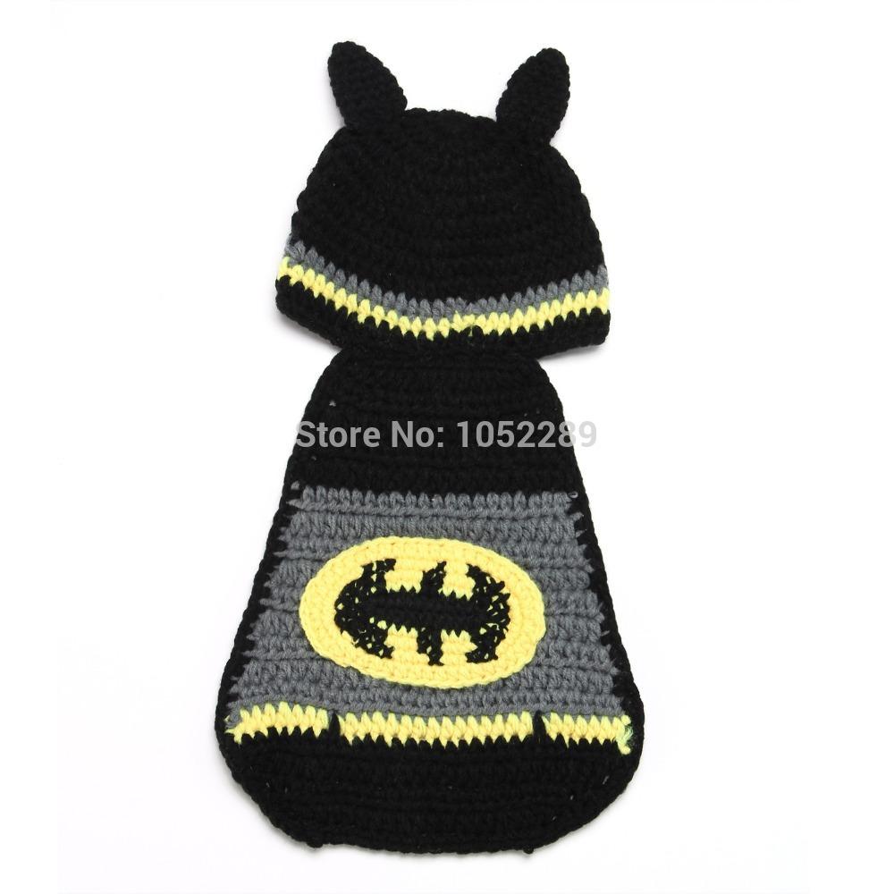 Baby Batman Hat Crochet Pattern Free : Crochet Pattern Central Free Halloween Crochet Pattern ...