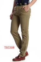 Men pants 2014 Autumn new Men's Cotton cargo Straight Slim Fit Casual Long pants men Designed pants male free shipping