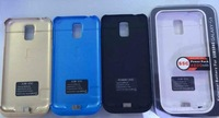 High Quality 4800mAh Backup Battery Charger With View Window For Samsung Galaxy S5 I9600 Free Shipping
