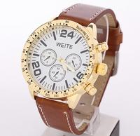 Wholesale three eyes good quality luxury watches, European-style military quartz watch, free shipping