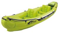 inflatable 2 preson boat sport boat 330*81*53cm, 228cm Alumnium oars, foot pump, repair kit