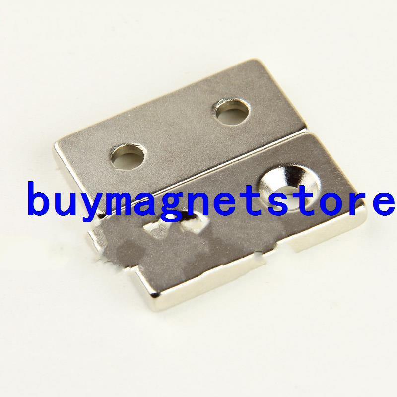 Магнитные материалы Neodymium magnet 4 x N35 : 5 40 * 20 * 5 2 5mm neodymium nib magnet spheres golden 10 pcs