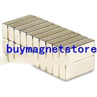 Ndfeb magnet Lot 10pcs Strong Block Bar Cuboid Magnets 20 x 8 x 5 mm Rare Earth Neodymium N35 magnets N52