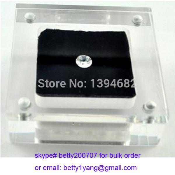 Jewelry diamond and gem small acrylic display boxes(China (Mainland))