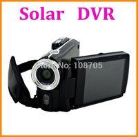 Solar Charging 12MP Camcorder Digital Video Camera 3.0 inch screen Dual Solar Charging DV with HDMI DV-T90