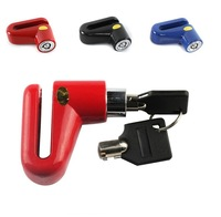 Bicycle lock 4 Color Disc lock bike mountain bike riding equipment anti-theft lock security locks Free shipping