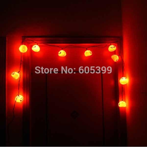 Праздничный атрибут LED Pumpkin String Light 16