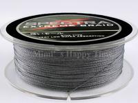 High quality Grey 100M 30LB 0.28mm 109 Yard 100% Super Strong Spectra PE Dyneema Braided Fishing Line