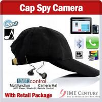 Hat Camera Cap Hidden Camera DVR Mini Camera DVR With Remote Control+Mp3+Bluetooth,Hat Spy Camera,support 2GB/4GB/8GB/16GB/32GB