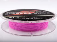 Hot sale PE Dyneema Braided Fishing Line 100M 90LB 0.50mm 109 Yard Spectra Braid Pink