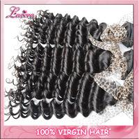 chinese Virgin Hair deep wave 100% Human Hair Weaves Wavy 1PCS Lot Queen Hair Products Unprocessed Virgin Hair Extension