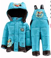 Baby down coat set female child down coat set men and Girls' children baby down coat set