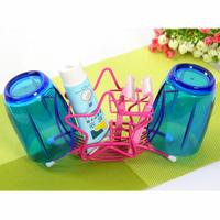 Free shipping HS050 Fashion Pentagram toiletries storage rack toothbrush cup holder Bathroom Set