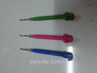 Free shipping Wholesale 2014 New Fashion High Quality Loom Band DIY Bracelet Making Kit Loom Metal Hook