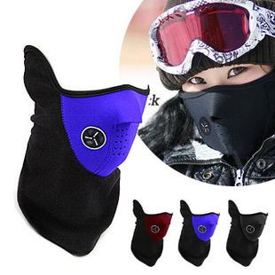 Sport Half Face Mask Winter Warm Outdoor Ski Mask Ride Bike Cap CS Mask Neoprene Bicycle Cycling Motorcycle Snowboard Neck Veil(China (Mainland))