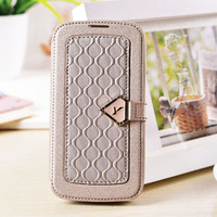 pu case for samsung galaxy S4 I9500  sands holster  Leather Case