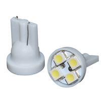 194 501 921 T10 W5W 4 LED SMD White Xenon Bulb 904   2pcs/lot