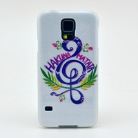 Character Design TPU Soft Protective Back Case Cover for Samsung Galaxy S5 I9600