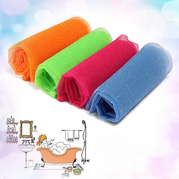 3PCS Bath Shower Soap Body Wash Exfoliate Puff