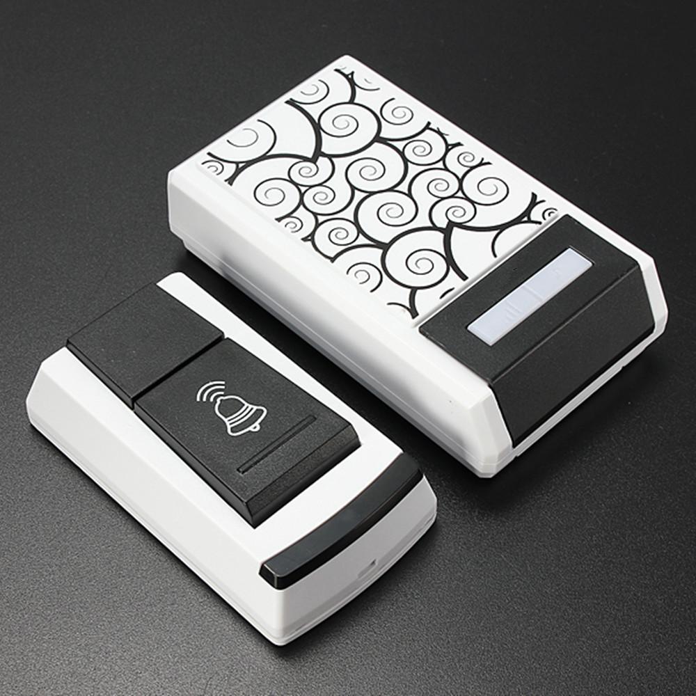 Waterproof Smart LED Digital Single Receiver 36 Tunes Wireless 100M Range Remote Control Home Gate Security Door Bell Doorbell(China (Mainland))