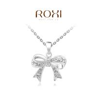 Retail - Free shipping jewelry,bowknot necklace women,women jewelry