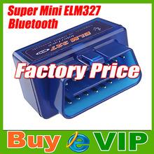 Супер мини ELM327 Bluetooth odb2 сканер ELM 327 V2.1 для салона автомобиля диагностический инструмент бесплатная доставка(China (Mainland))