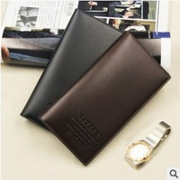 HOT SALE 2013 popular black and coffee wallet men purse wallets for men free shipping retail
