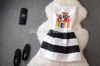 2014 brand new women's autumn fashion wear European top brand fashion slim dress  elegance party dress T2098