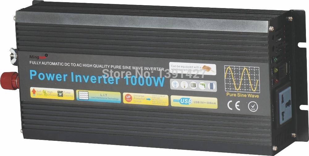 Free Shipping 12v 220v 1500w inverter(China (Mainland))