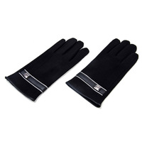 (1pair/lot)Fashion Design Men Winter Screen Touch Glove Outdoor Warm Cycling Gloves Mittens
