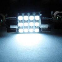 White Dome 12 SMD LED Car Interior Bulb Light 36mm 12V   2pcs/lot
