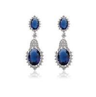 new item sweet korean style CZ crystal earring for women statement earring women earrings new women big earings 2014 A224