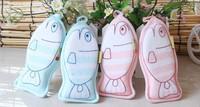 Free shipping Cotton Soft Newborn Bath Towel Brush  fish style  Cartoon Baby Bath Foam Rub Shower Sponge