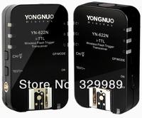Yongnuo YN 622N Wireless TTL Flash Trigger 2 Transceivers for Nikon D3 D2X D800E D800 D700 D5100