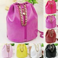 2014 new fashion ladies bucket  chain retro cross body Messenger Shoulder female  women handbag desigual  PU bag