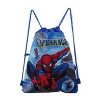 Free Shipping New Arrival Cartoon Spiderman  Printed   Shopping Bag Water-proof Non-woven  Student Bag Eco-friendly  Bag