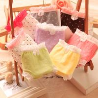 Free shipping Low-waist cotton cute cartoon love hearts ladies underwear girl Briefs